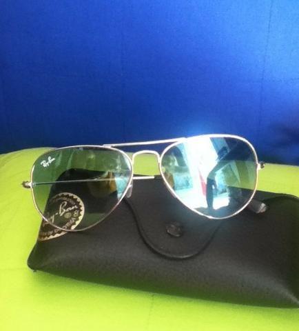 eefe606a9 Óculos Ray-Ban lente azul degradê ótimo estado - Bijouterias ...