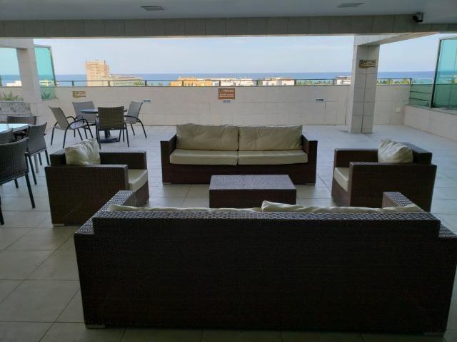 Lindo 3 quartos nascente na praia de Jatiuca, próximo a tudo - Foto 13