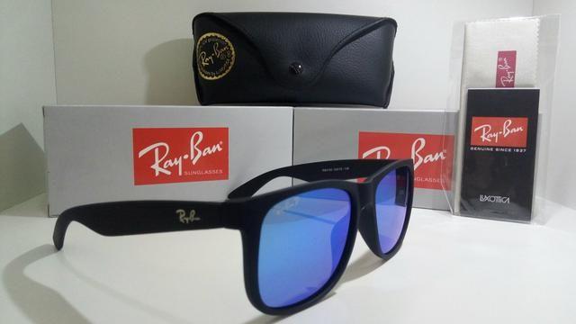 e9960fc60cda0 Óculos de sol rayban justin 4165 espelhado - Bijouterias, relógios e ...
