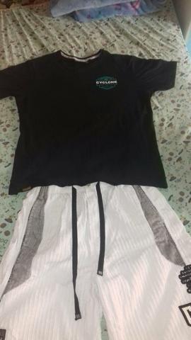 a6cccde474 Bermuda e Camiseta Originais da Cyclone - Roupas e calçados ...