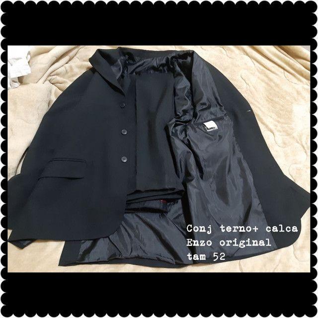 Conjunto de terno e blazer com calça