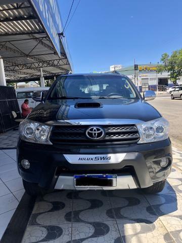 Toyota Hilux SW4 SRV 4x4 DIESEL 7P IPVA 2020 PAGO - Foto 12