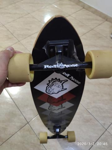 Skate Longboard Red Nose - Dogs - Foto 4