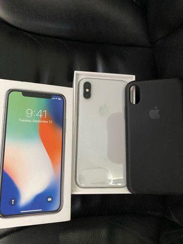 iPhone X 64GB único dono,tela nunca trocada