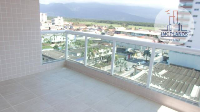 Apartamento com 2 dormitórios à venda, 80 m² por R$ 310.000,00 - Caiçara - Praia Grande/SP