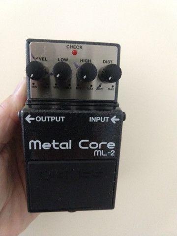 Pedal boss metal core ml2 - Foto 2