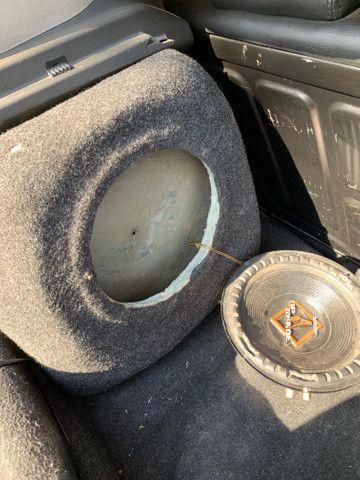 Caixa de som para Fiat Punto + Falante - Foto 3