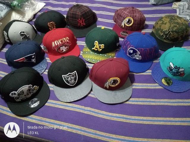 BONES CAP ORIGINAL NEW ERA NOVOS VARIOS MODELOS $120 CADA - Foto 3