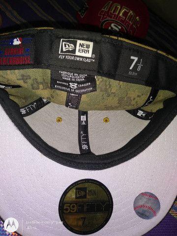 BONES CAP ORIGINAL NEW ERA NOVOS VARIOS MODELOS $120 CADA - Foto 6