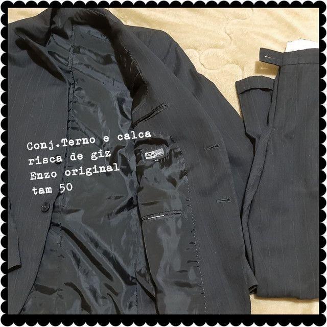 Conjunto de terno e blazer com calça  - Foto 4