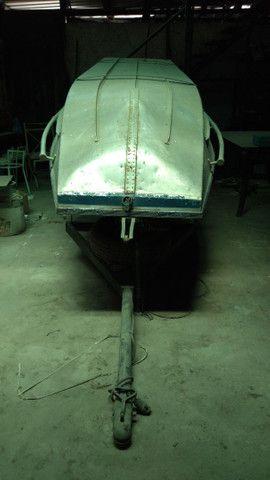 Barco borda alta + carretinha + cozinha completa  - Foto 5