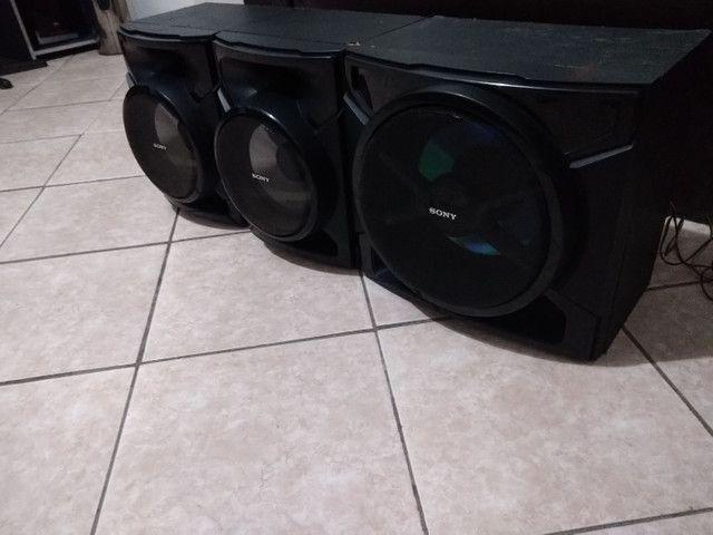 Conjunto de Caixas+ Subwoofer 3000 Watts Sony GTR555 - Foto 4