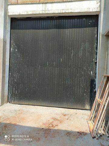 Porta de correr para barracão 4m x 4m - Foto 3