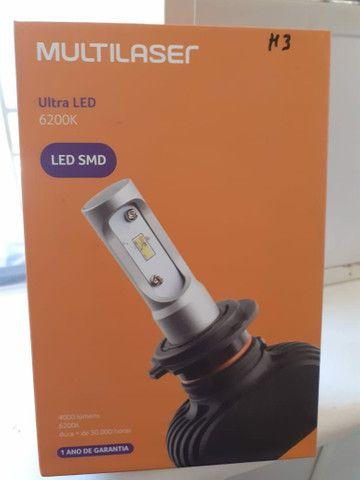 Lâmpada H11 ultra Led - Foto 2