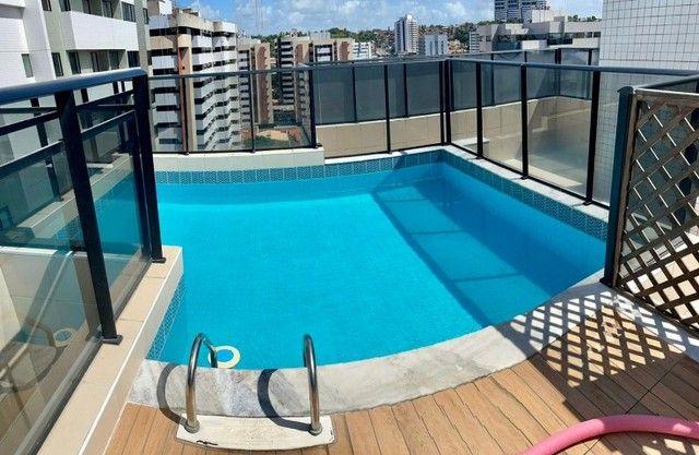 Apartamento na Jatiuca, 110m², 3/4-2 suites, varanda integrada - Foto 14