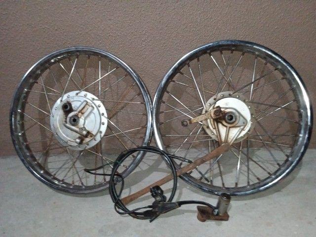Jogo de Roda CG125