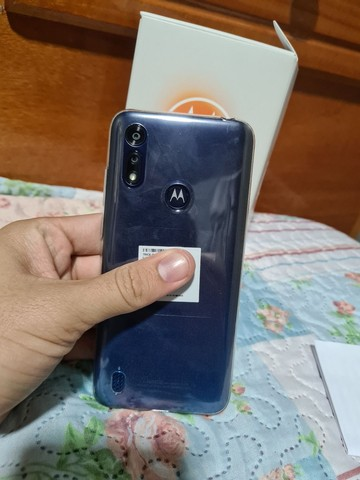 Motorola E6s 32G NOVO NA CAIXA (Azul Navy) - Foto 3