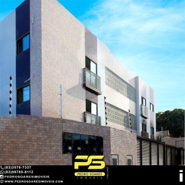 Apartamento com 2 dormitórios à venda, 50 m² por R$ 195.000 - Bancários - João Pessoa/PB - Foto 2