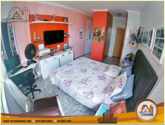 Apartamento à venda, 117 m² por R$ 370.000,00 - Vila União - Fortaleza/CE - Foto 13