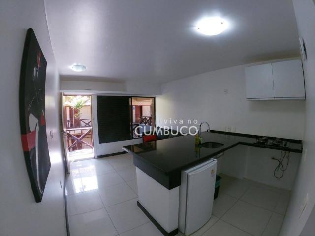 Flat com 1 dormitório, 37 m² - venda por R$ 200.000,00 ou aluguel por R$ 2.200,00/mês - Cu - Foto 3