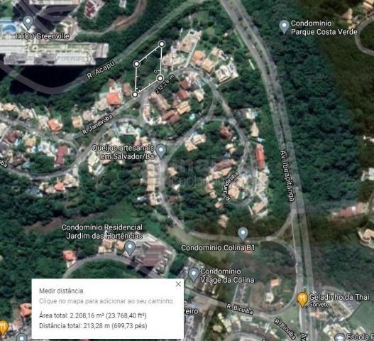 Terreno à venda 1.100m² - Colina B1 - Patamares - Foto 7