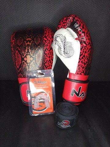 Luvas de Kickboxing/Muay Thai  - Foto 3