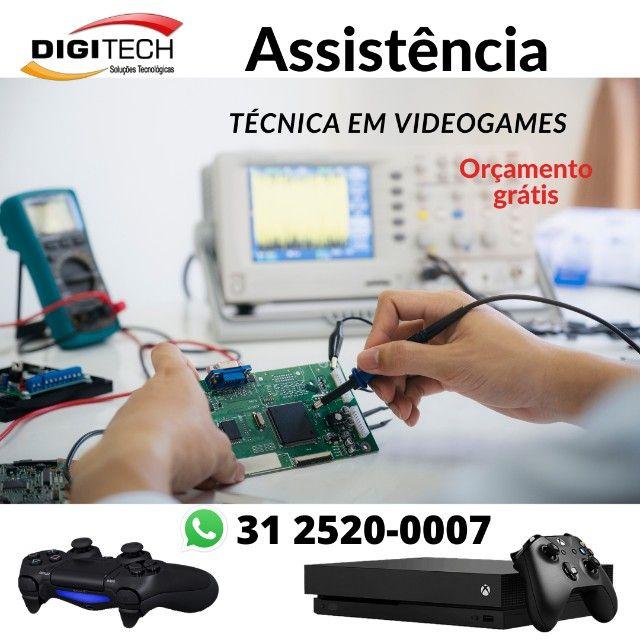 Videogame Assistência Especializada em BH
