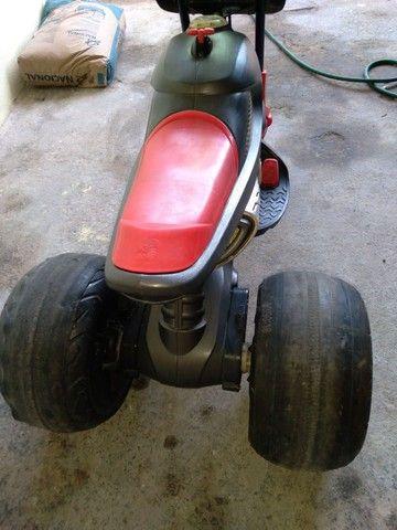 Moto elétrica bandeirante com bateria de moto. - Foto 3