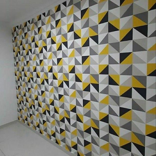 Papel de parede vinilico é importado  - Foto 5