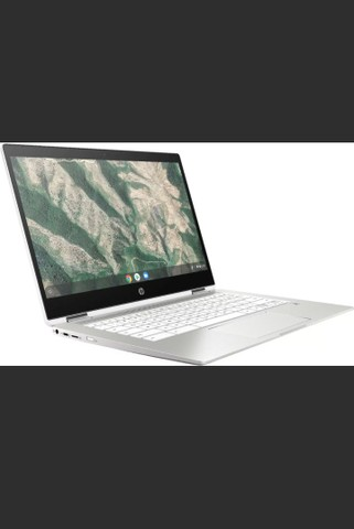 "HP Chromebook x360 14"" (32GB, Intel Celeron, 1.1 Ghz, 4GB) Notebook-Branco - 7PD76UA - Foto 5"