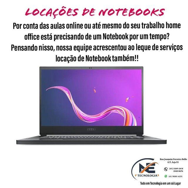 Locação de Notebook