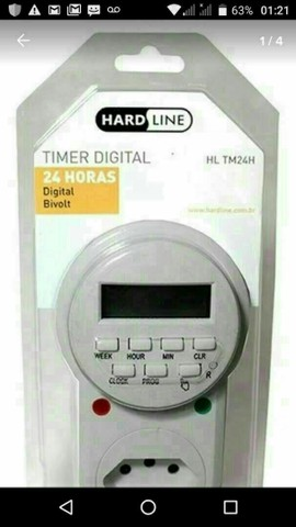 Tomada time digital
