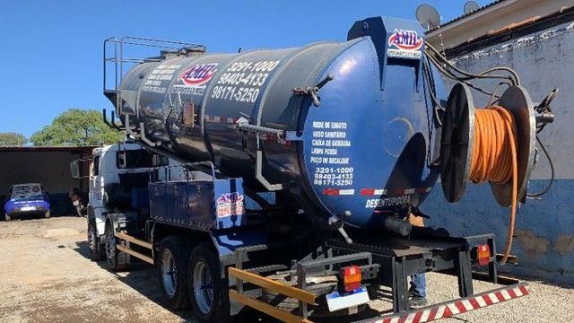Caminhão Limpa Fossa E Hidrojato De 16 000 Litros - Foto 7