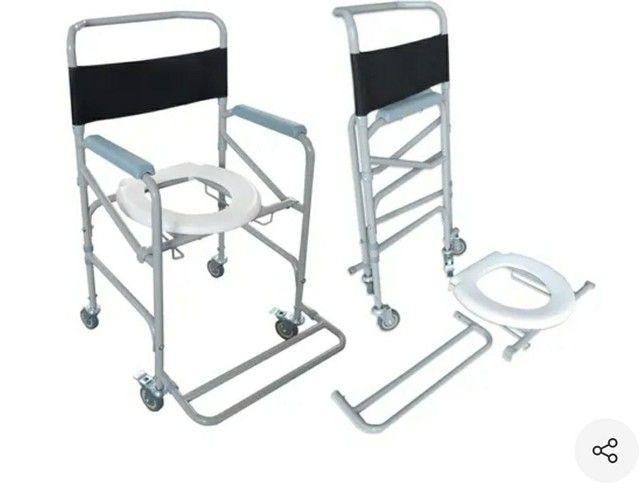 Cadeira de roda de banho Novas - Foto 3