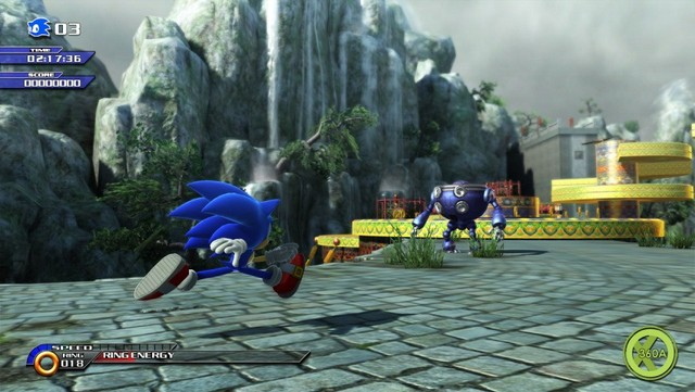 Sonic Unleashed Xbox 360 - Foto 2