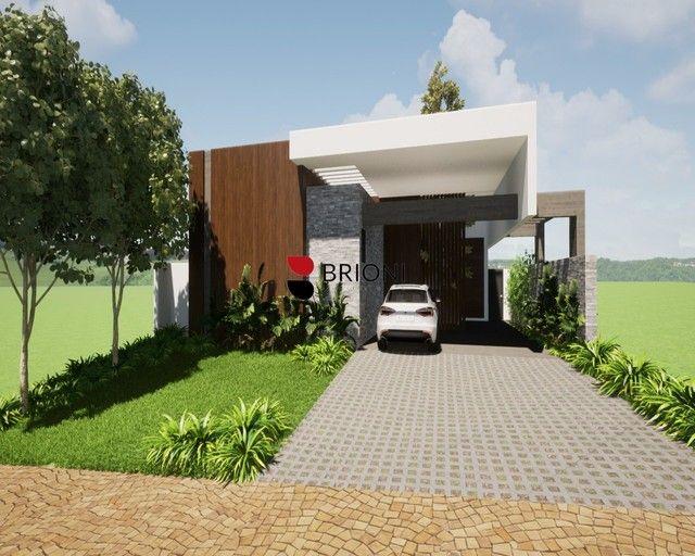 Casa alto padrão em condomínio, Reserva Santa Luisa, a venda