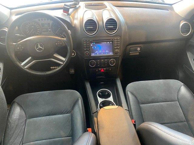 Mercedes ML 350 V6 Diesel, 2011, teto solar, impecável  - Foto 8