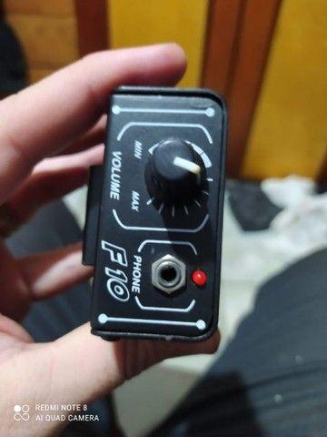 Power click f10 amplificador de fone monitor  - Foto 2