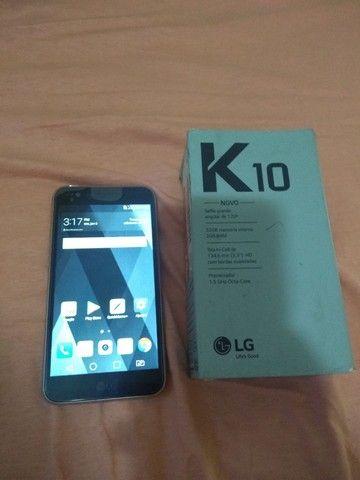 LG k10 32 GB 3 ram top demais barato 350  - Foto 2