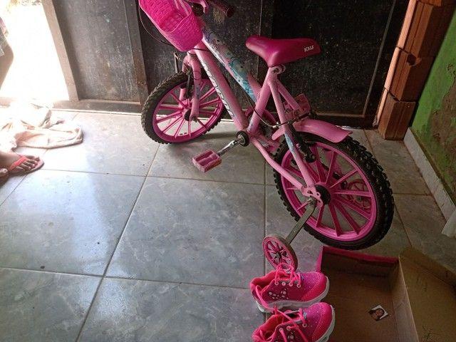 Bicicleta tênis