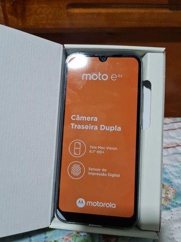 Motorola E6s 32G NOVO NA CAIXA (Azul Navy) - Foto 2