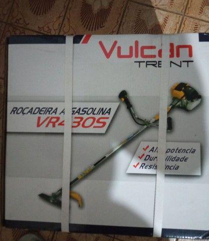 Roçadeira e motosserra vulcan super barato zero na caixa - Foto 2