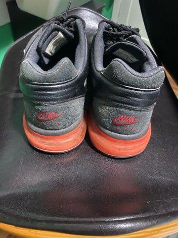 Tênis Nike Air Max Leather 2013 Vermelho nº 43 - Foto 3