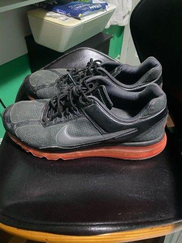 Tênis Nike Air Max Leather 2013 Vermelho nº 43 - Foto 4