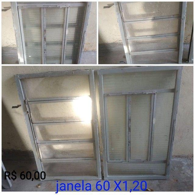 Janela e portas usada - Foto 4