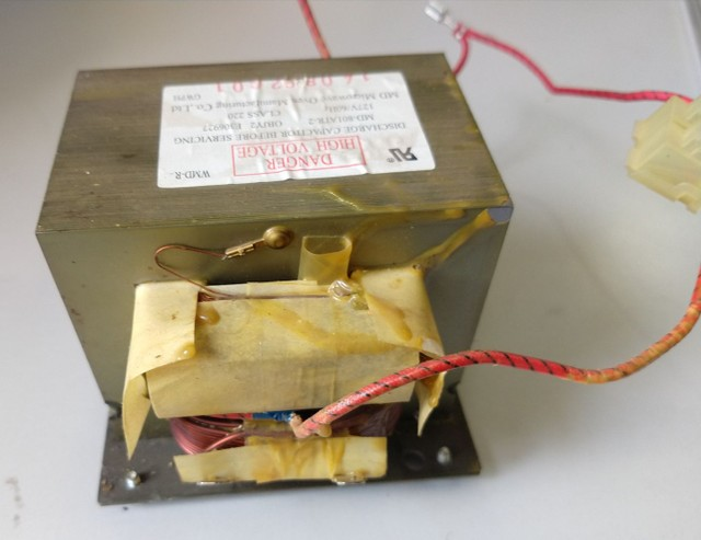 Transformador micro-ondas Panasonic Piccolo NM-ST354WRUN  - Foto 2