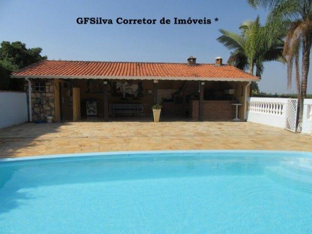 Chácara 1.500 m2 Condominio Fechado Casa 3 dorm. píscina Ref. 453 Silva Corretor - Foto 9