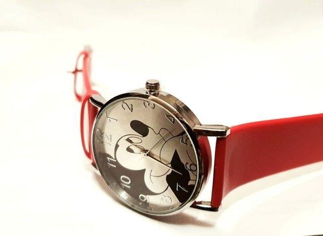 Relógio Mickey Vermelho