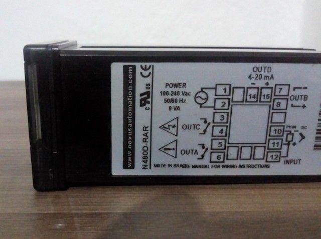 Controlador de Temperatura-NovusN480D-RAR - Foto 2
