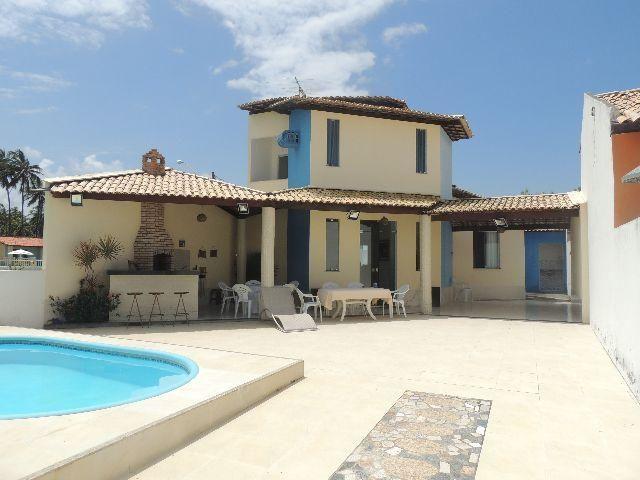 Casa de praia com piscina em condom nio fechado - Piano casa in condominio ...